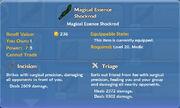 Magical Essence Shockrod Axe item