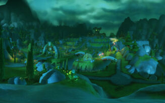 Shrouded glade panoramic small