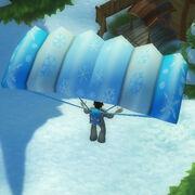 Temporarysnowflakeparachute