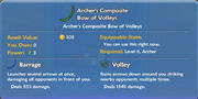 Archer's Composite Bow of Volleys item