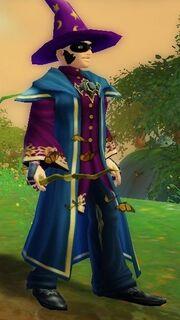Monarch Wand held