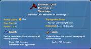 Brawler's Drill Hammer of Slammage item
