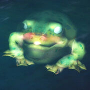 Ghostly toad