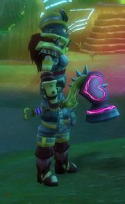 Heartthrob Hammer held