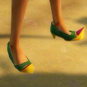 Elegant desert shoes