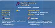 Brawler's Hammer of Pummeling item