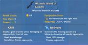 Wizard's Wand of Glaciers item