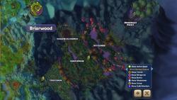 Map briarwood