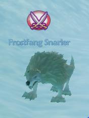 Frostfang snarlers