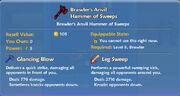 Brawler's Anvil Hammer of Sweeps item