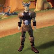 Buff viking outfit