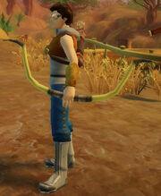 Archer's Horse Bow of Splintering held