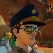 Order police hat