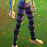 Malevolent spandex leggings