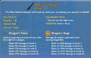 New School Dragon Blade item