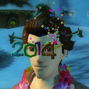 2014 party glasses