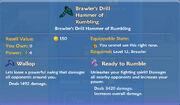 Brawler's Drill Hammer of Rumbling item