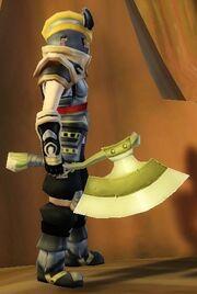 Warrior's Axe of Warcry held