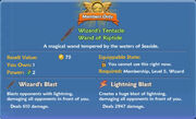 Wizards Tentacle Wand of Riptide item