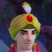 Ruby encrusted turban