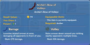 Archer's Bow of Volleys item