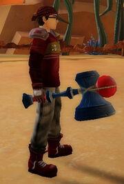 Brawler's Hammer of Sweeps held