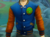 Free Realms Letterman Jacket