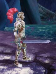 Sword of Omens held