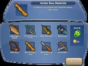 Archer Bow Materials