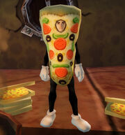 Pizza slice outfit