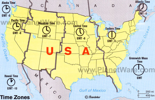 Image Usatimezonesmap Jpg Free Realms Warrior Cats Wiki - Map us time zones