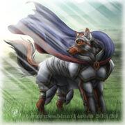 Wolf knight by sheltiewolf-d2vswu7