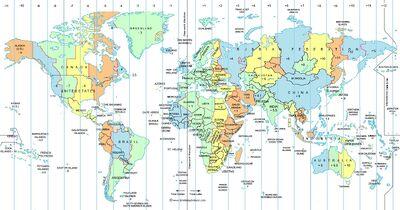 Europe timezones