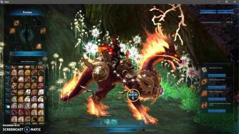 Firey Dragon Armor