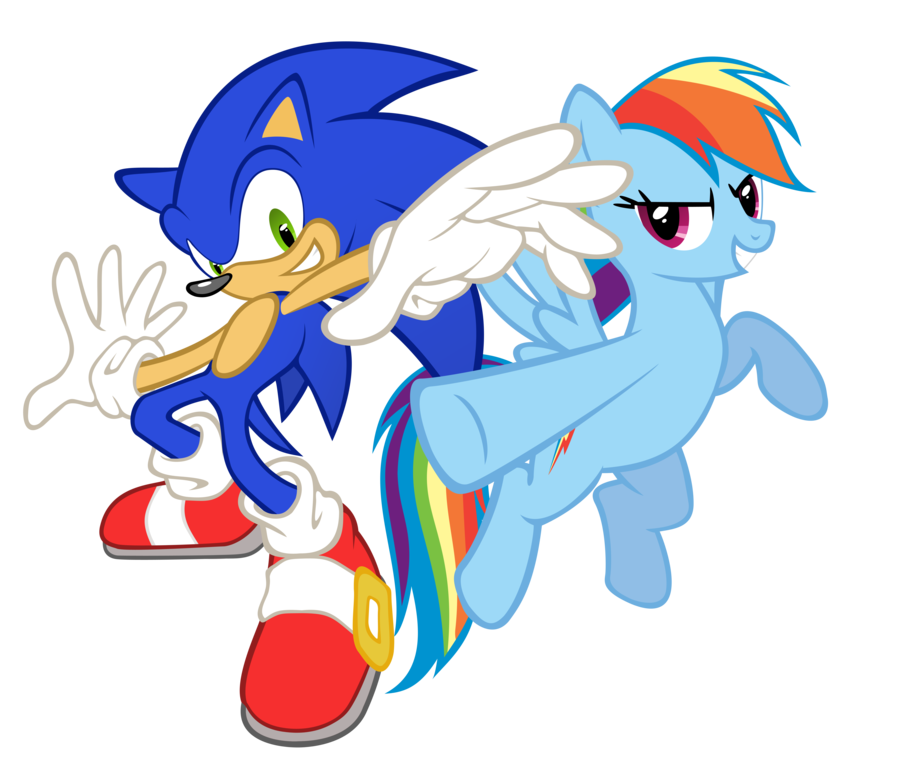 Warriors Of The Rainbow Full Movie 123movies: Image - Sonic And Rainbow Dash.png