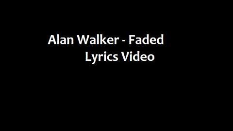 Alan Walker (feat. Iselin Solheim) - Faded (Lyrics Video)