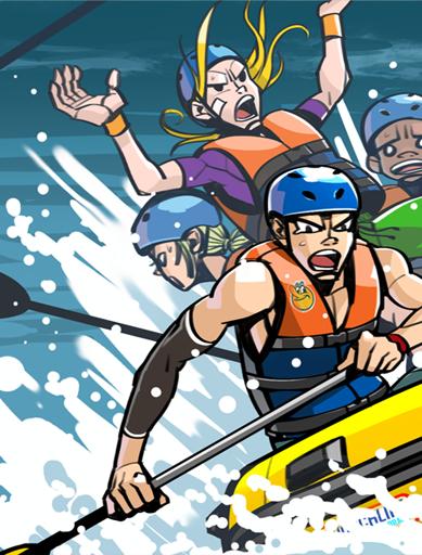 Summer rafting 1