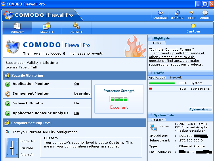 Download comodo firewall pro 3 the best personal firewall.