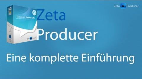 Zeta Producer (Business) - Eine komplette Einführung