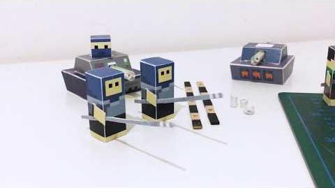Paper War - Board Game With Miniatures That Can Actually Shoot