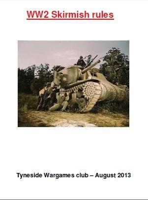 WW2 Skirmish Rules | Freewargamesrules Wiki | FANDOM powered