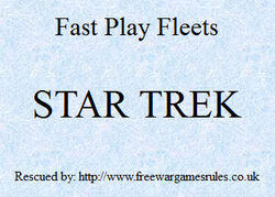 Fast Play Fleets Star Trek