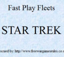 Fast Play Fleets - Star Trek