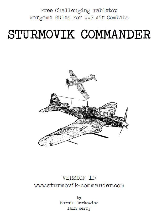 Sturmovik Commander | Freewargamesrules Wiki | FANDOM