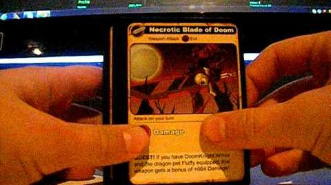 Unboxing Aqw cards