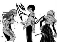 Kazuya and Satellizer vs Ingrid