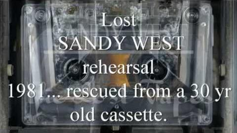 SANDY WEST Lost Tapes