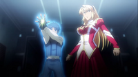 Kazuya and Satellizer protect what's important2