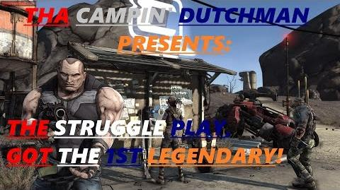 Borderlands The struggle play, got the 1st legendary! (Let's play 5)
