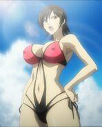 Freezing - kim yumi swimsuit